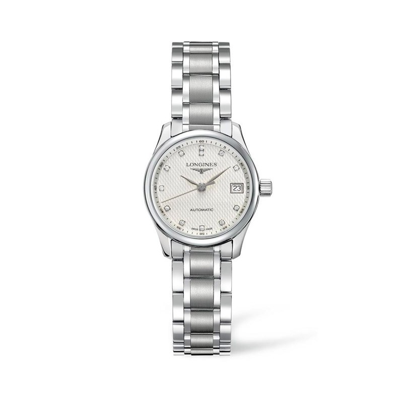 Reloj Longines Master Collection diamantes 25,5mm L2.128.4.77.6