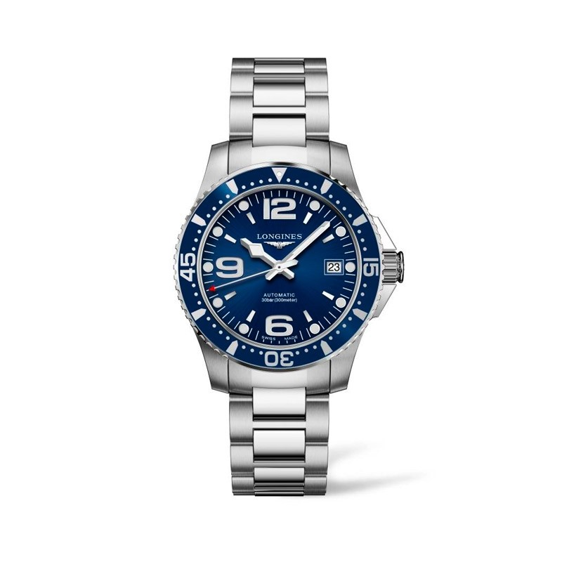 Reloj Longines 39mm HydroConquest Azul  L3.741.4.96.6