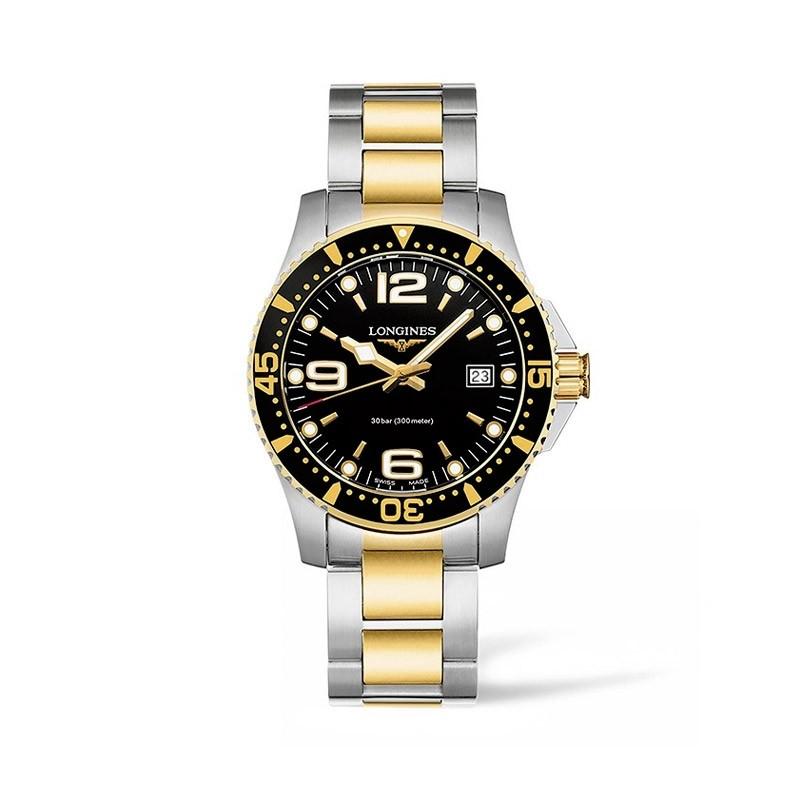 Reloj Longines HydroConquest dorado 41mm L3.740.3.56.7