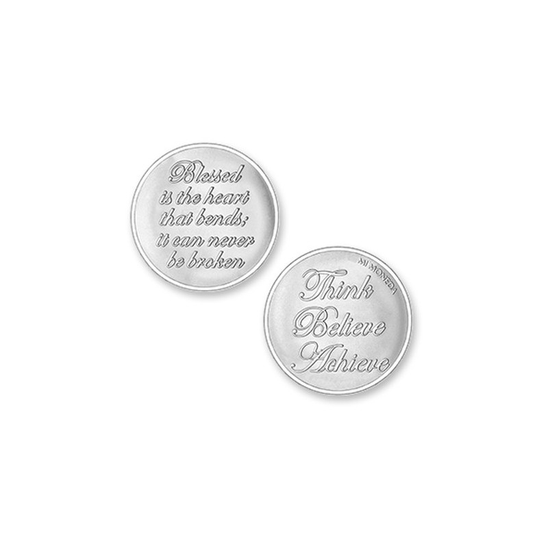 Moneda grande Blessed & Believe Mi Moneda MON-BLE-01-L