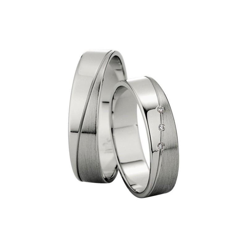 Alianzas de platino Saint Maurice  81504/05