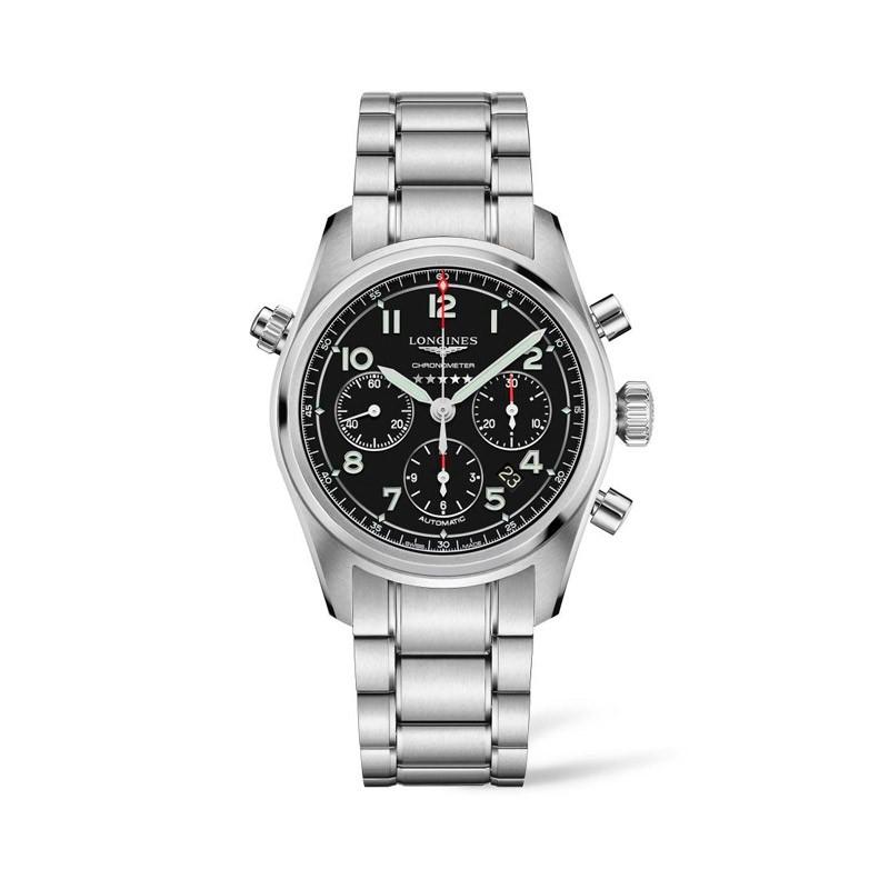 Reloj Longines Spirit 42mm L3.820.4.53.6
