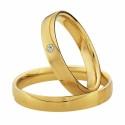 Alianzas oro amarillo Saint Maurice Colección Light 87020/21