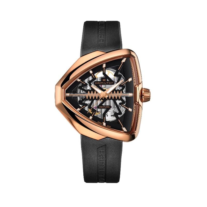 Reloj Hamilton Ventura Elvis 80 Skeleton H24525331