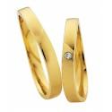 Alianzas oro amarillo Saint Maurice  Colección Light 87028/29