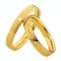 Alianzas oro amarillo Saint Maurice  Colección Light 87030/31