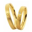 Alianzas oro amarillo Saint Maurice  Colección Light 87034/35