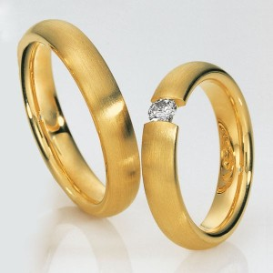 Alianzas de oro Saint Maurice Pas De Deux (Ref.: 49-81270/71