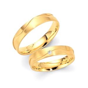 Alianzas de oro amarillo Fischer 80418/045