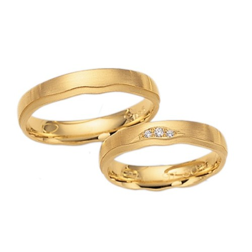 Alianzas de oro amarillo Fischer 80430/045