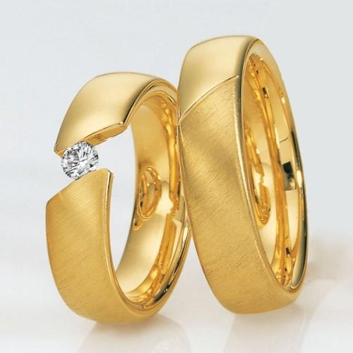 Alianzas de oro Saint Maurice Pas De Deux 49-81272/73