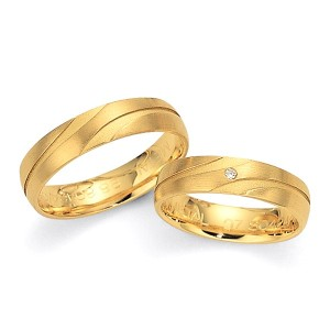 Alianzas de oro amarillo Fischer 80424/050