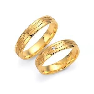 Alianzas de oro amarillo Fischer 80420/045