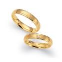 Alianzas de oro amarillo Fischer 80760/040