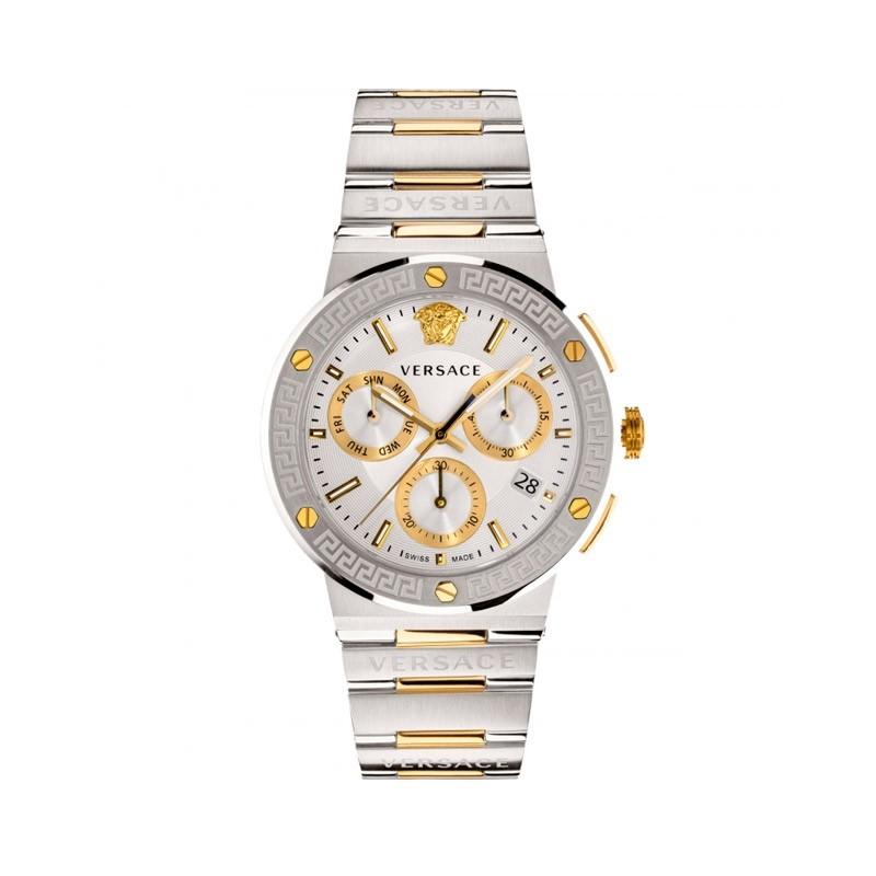 Reloj Versace Greca Logo Crhono 43mm VEZ900321