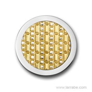 Moneda Mediana Acera Gold Plated Mi Moneda M-3D-ACE-02-M