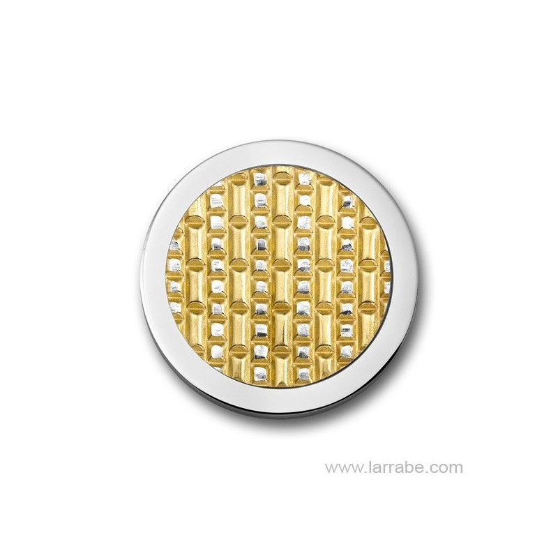 Moneda Mediana Acera Gold Plated Mi Moneda M-3D-ACE-02-M