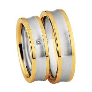 Alianzas Saint Maurice Colección Steel&Gold (Ref.: 49-88210/11)