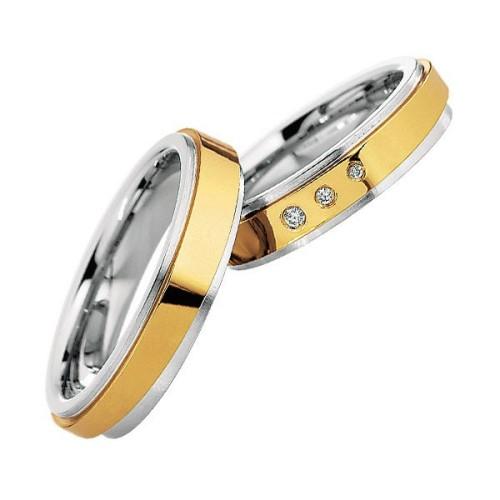 Alianzas Saint Maurice Colección Steel&Gold (Ref.: 49-88214/15)