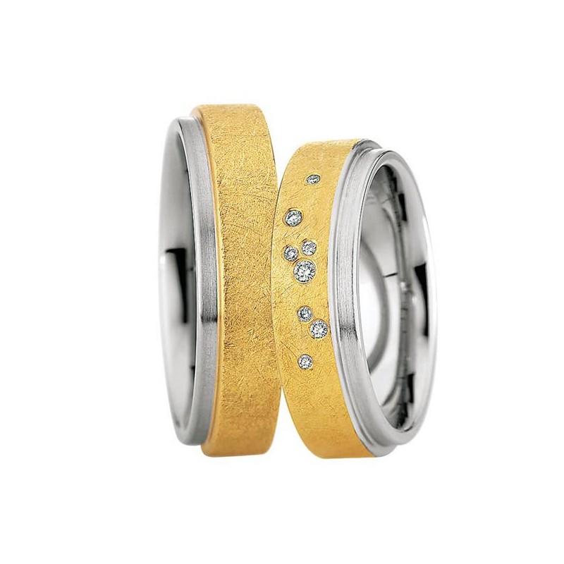 Alianzas Saint Maurice Colección Steel&Gold (Ref.: 49-88218/19)