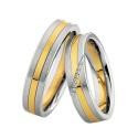 Alianzas Saint Maurice Colección Steel&Gold (Ref.: 49-88234/35)