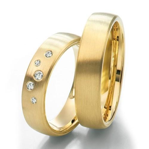 Alianzas de oro Saint Maurice Twin Set 49-81163/64