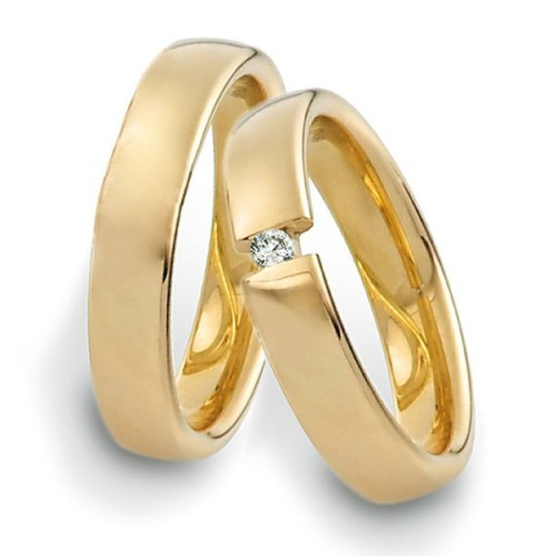 Alianzas de oro Saint Maurice Twin Set 49-81165/66