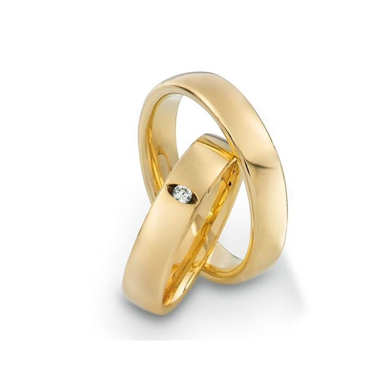 Alianzas de oro amarillo Saint Maurice Twin Set 49-81172/73