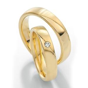 Alianzas de oro amarillo Saint Maurice Twin Set 49-81174/75