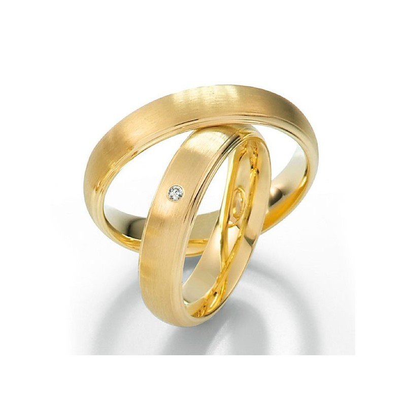 Alianzas de oro amarillo Saint Maurice Twin Set 49-81176/77