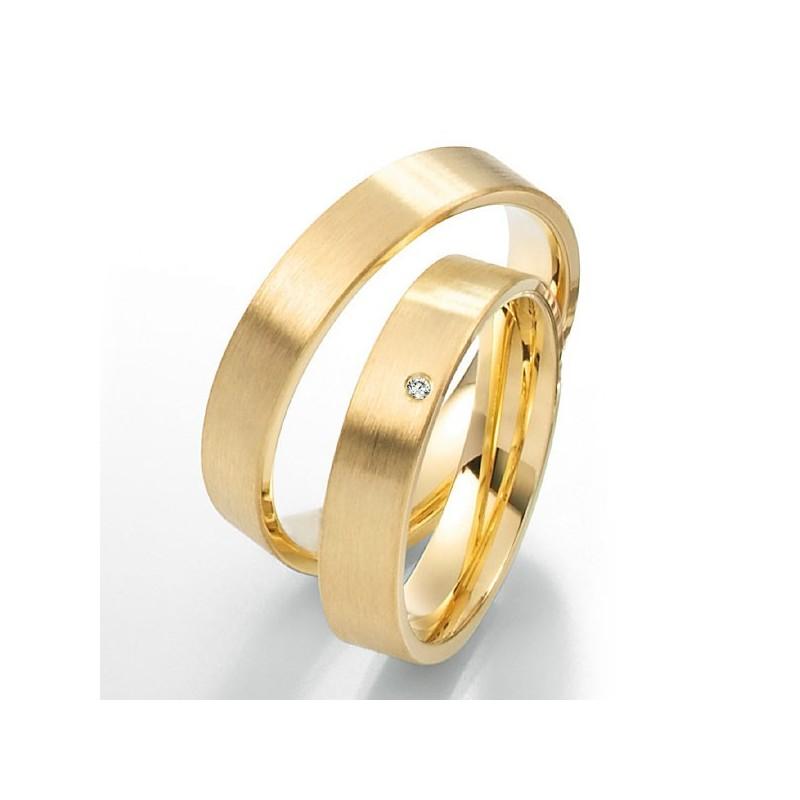 Alianzas de oro amarillo Saint Maurice Twin Set 49-81178/79