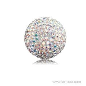 Bolas de Sonido Cristal Blanca Engelsrufer ERS-01-ZI-L