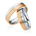 Alianzas de oro bicolor Saint Maurice - Selection 841510_841520