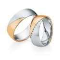 Alianzas de oro bicolor Saint Maurice - Selection 841550_841560