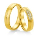 Alianzas de oro Saint Maurice Colección Precious Line 816460/70