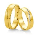 Alianzas de oro Saint Maurice Colección Precious Line 81648/49