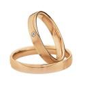 Alianzas oro rosa Saint Maurice Colección Light 87020/21