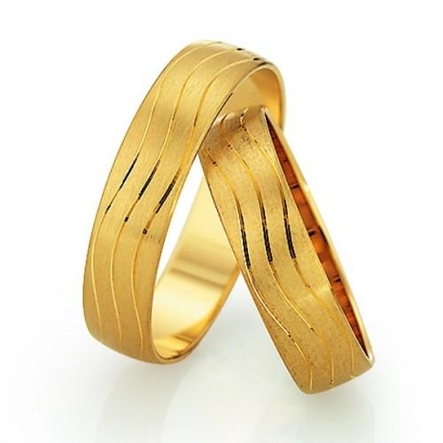 Alianzas de oro amarillo Saint Maurice - Slim 81502_03