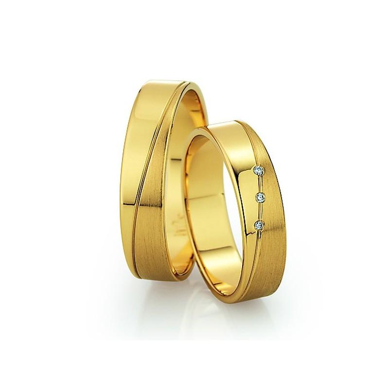 Alianzas de oro amarillo Saint Maurice - Slim 81504_05