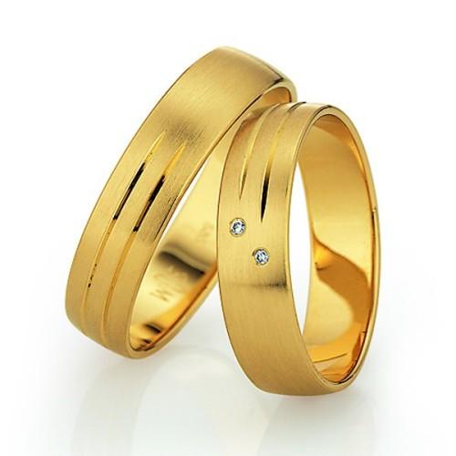 Alianzas de oro amarillo Saint Maurice - Slim 81506_07