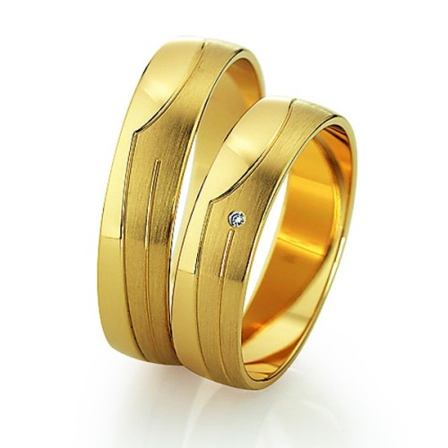 Alianzas de oro amarillo Saint Maurice  - Slim  81508_09