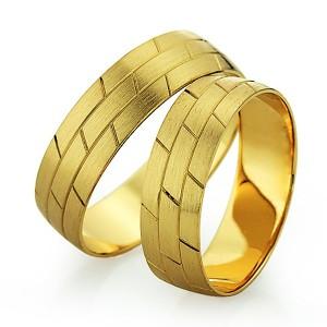 Alianzas de oro amarillo Saint Maurice  - Slim 81520_21