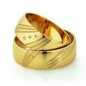 Alianzas de oro amarillo Saint Maurice - Slim 81524_25