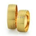 Alianzas de oro amarillo Saint Maurice - Slim 81528_29