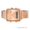 Reloj Tous I-Bear digital de acero con baño rosa 700350130