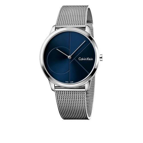 Reloj Calvin Klein Minimal Azul 40mm K3M2112n