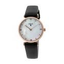 Reloj Tous Reloj Camille acero rosado - correa piel 29mm 700350075