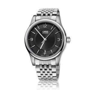 Reloj Oris Classic Date 42mm Esfera negra 733 7594 4034