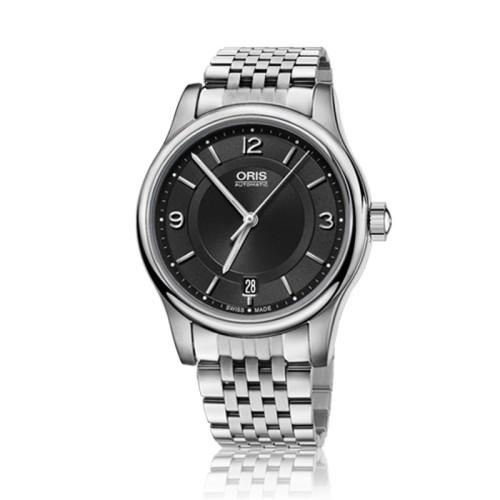 Reloj Oris Classic Date 42mm Esfera negra 01 733 7578 4094-42