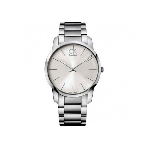 Reloj Calvin Klein City Plata 43mm K2G21126